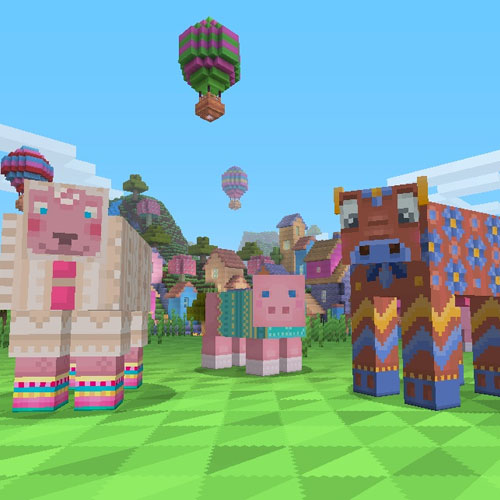 Minecraft Pattern Texture Pack
