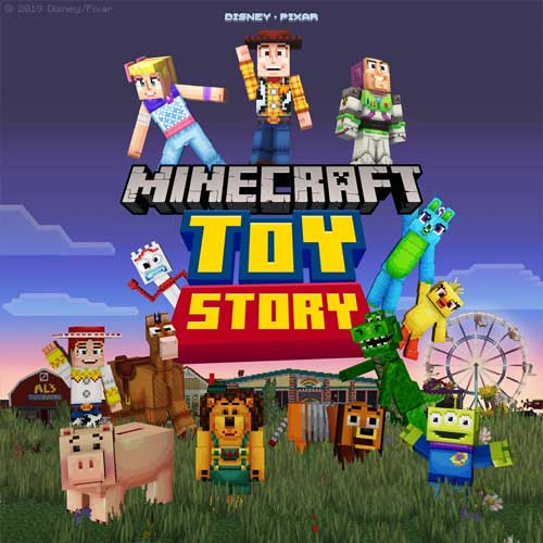Minecraft Toy Story Mashup Pack