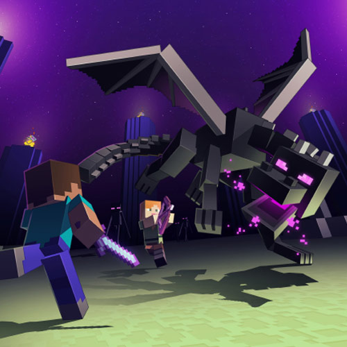 Minecraft Realms Enderdragon