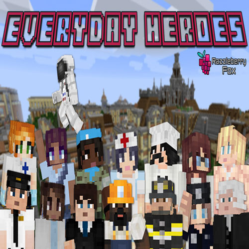 Everyday Heroes Skin Pack by Razzleberry Fox
