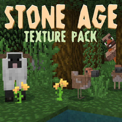 Minecraft Stone Age Texture Pack