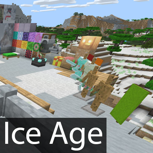 Minecraft Ice Age Texture Pack