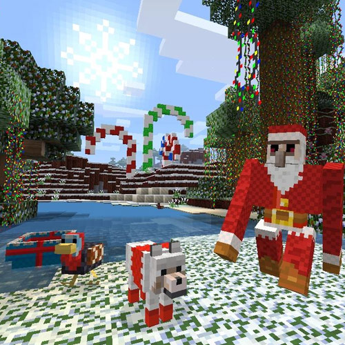 Minecraft Xbox 12 Days of Christmas