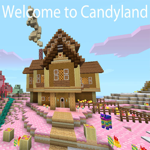 Minecraft Xbox Candyland Walkthrough