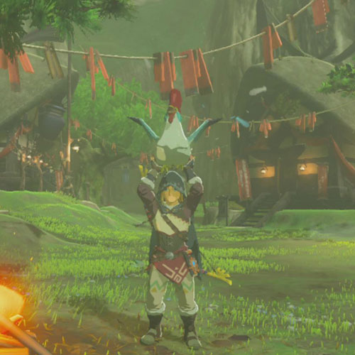The Legend of Zelda: Breath of the Wild Cucco