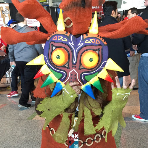 Pax East 2017 Majora's Mask Cosplay