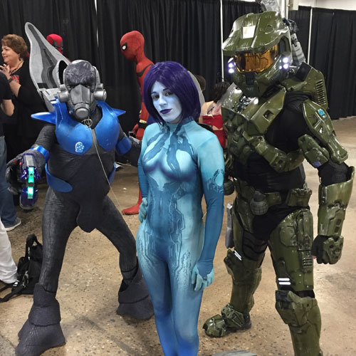 The Great Philadelphia Comic Con 2017 Halo Cosplay