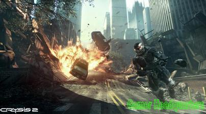 Crysis 2 Car Explosions