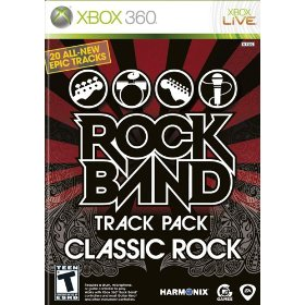 Rock Band Track Pack Classic Rock
