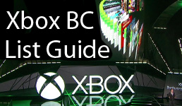 Xbox Backwards Compatible Sorting List Guide