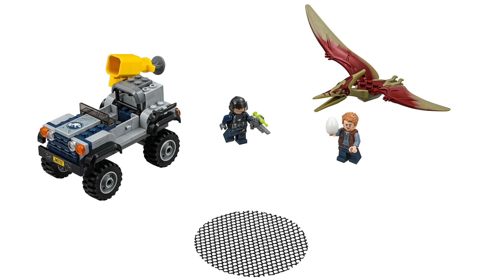 LEGO Jurassic World Set 75926 Pteranodon Chase at Toy Fair 2018