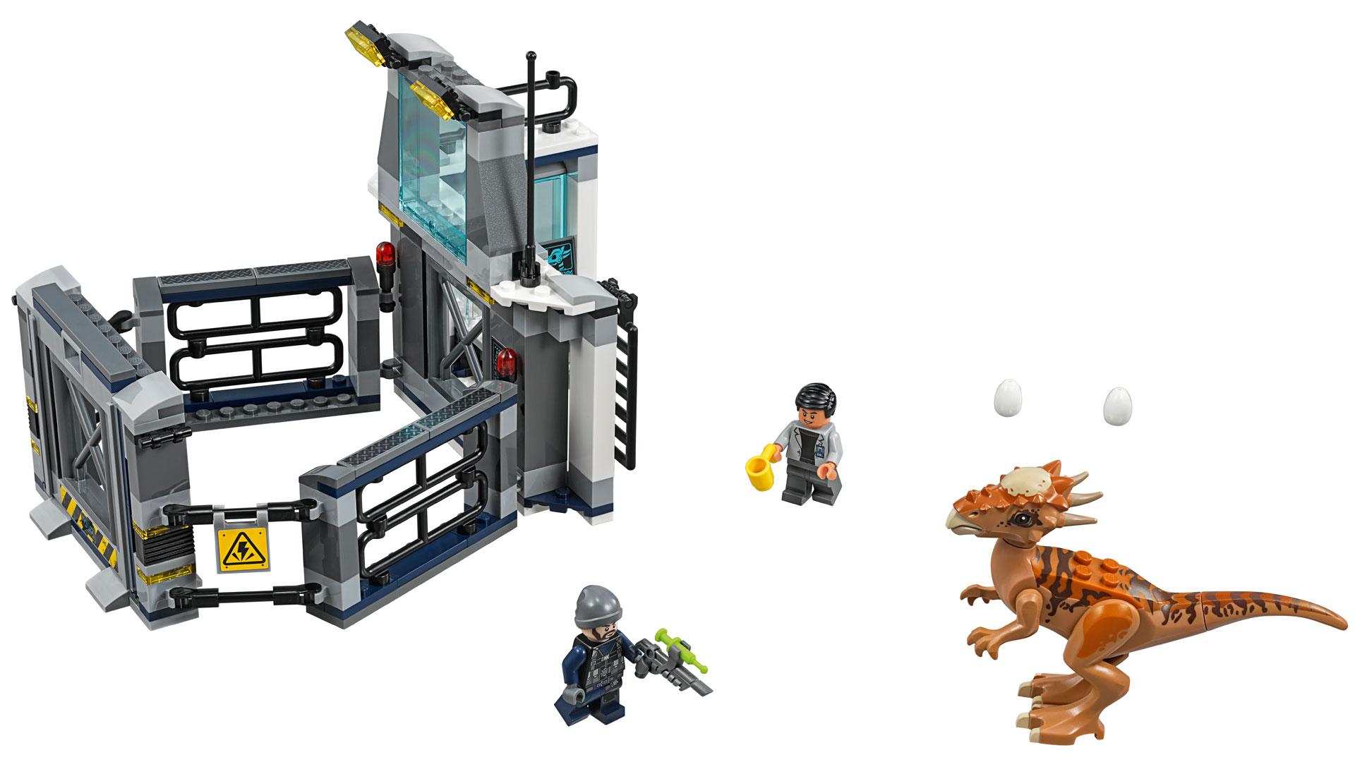 LEGO Jurassic World Set 75927 Stygimoloch Breakout at Toy Fair 2018