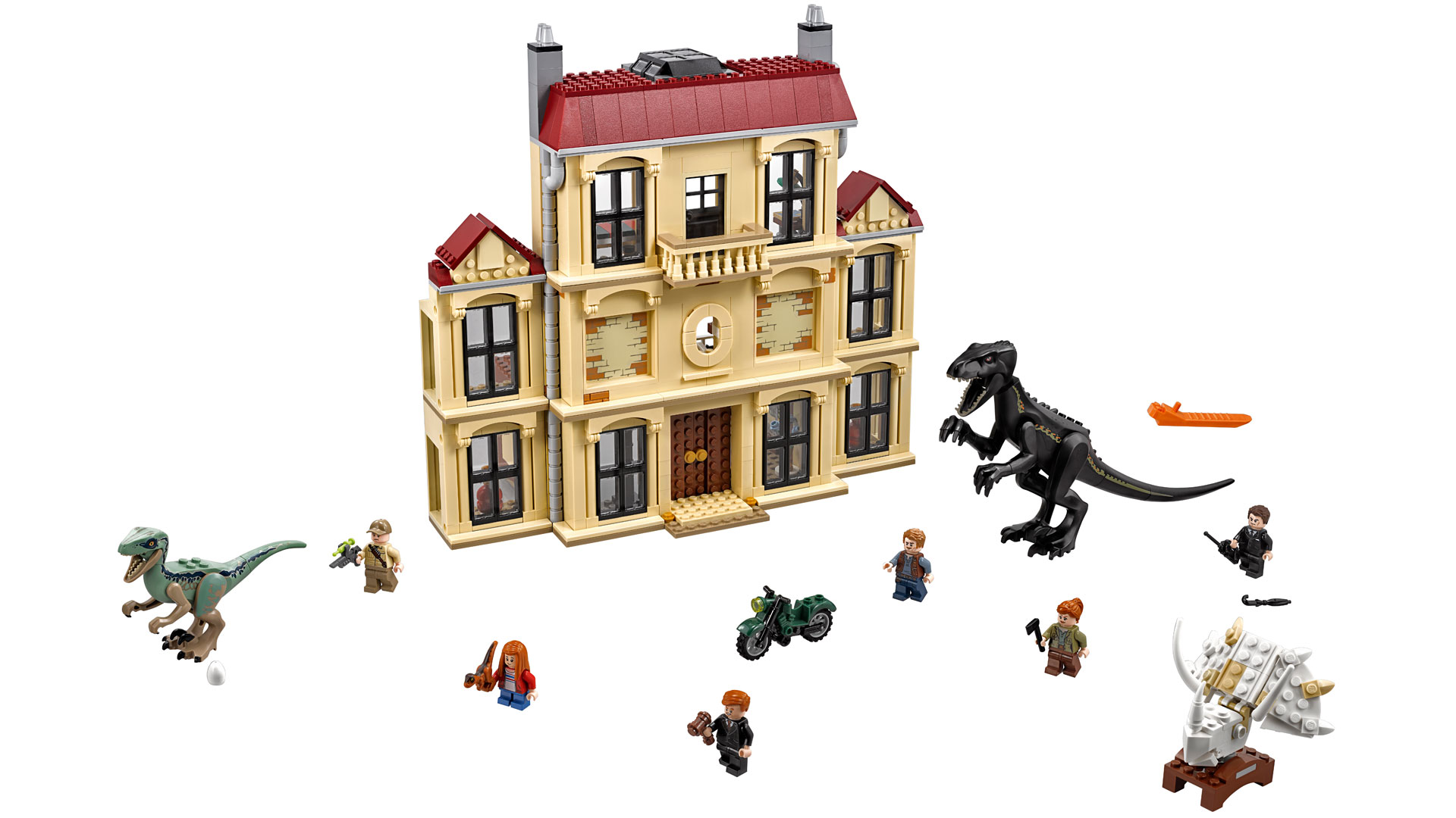 LEGO Jurassic World Set 75930 Indoraptor Rampage at Lockwood Estate at Toy Fair 2018