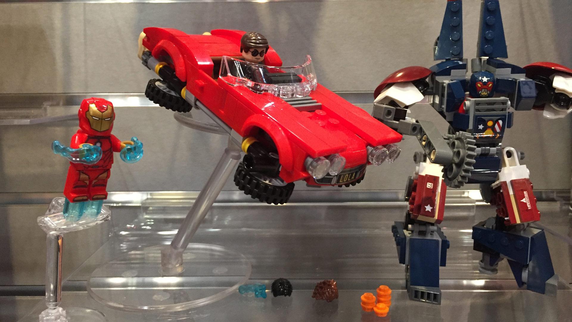 LEGO Marvel Super Heroes Set 76077 Iron Man Steel Detroit Strikes at Toy Fair 2017