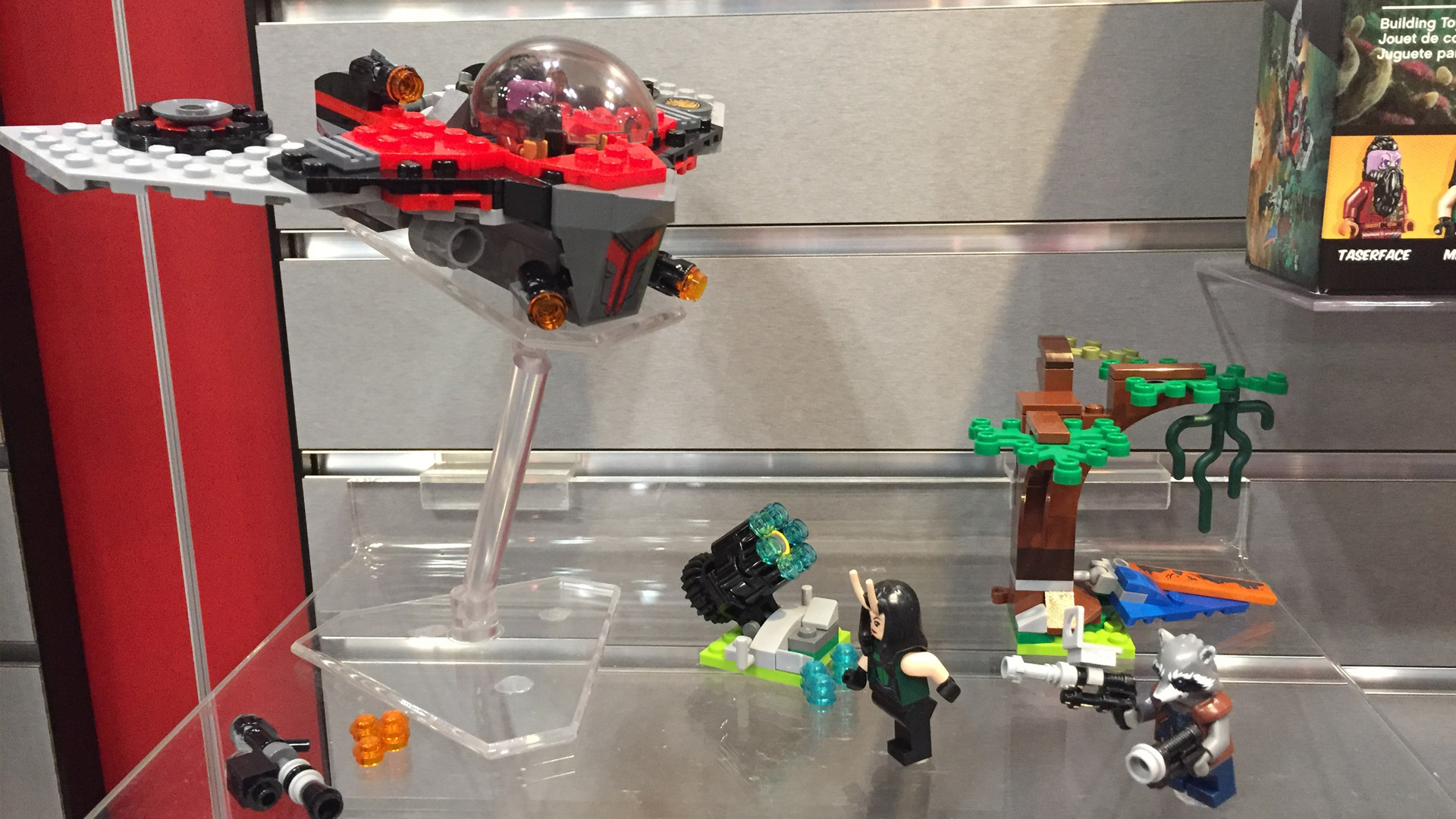 LEGO Marvel Super Heroes Set 76079 Guardians of the Galaxy 2 Villain Veh at Toy Fair 2017