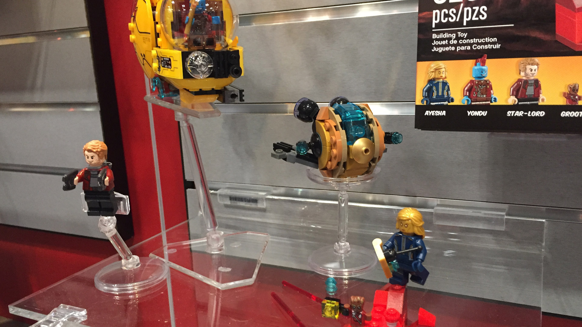 LEGO Marvel Super Heroes Set 76080 Guardians of the Galaxy 2 Face-Off at Toy Fair 2017