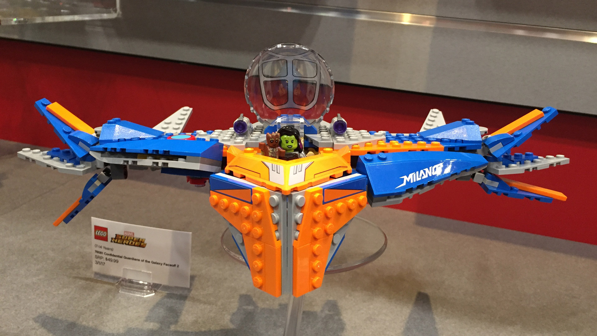 LEGO Guardians of the Galaxy 2 Faceoff 2 at Toy Fair 2017