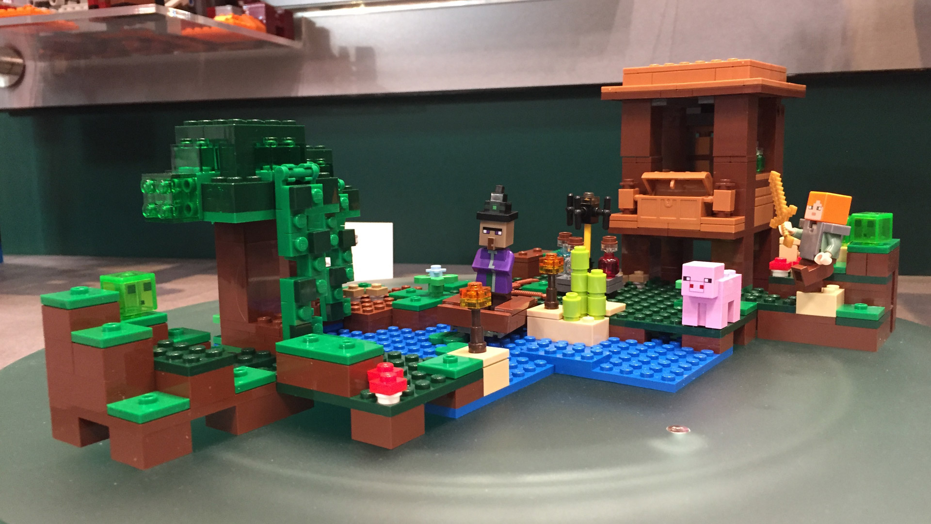 LEGO Minecraft Set 21133 The Witch Hut at Toy Fair 2017