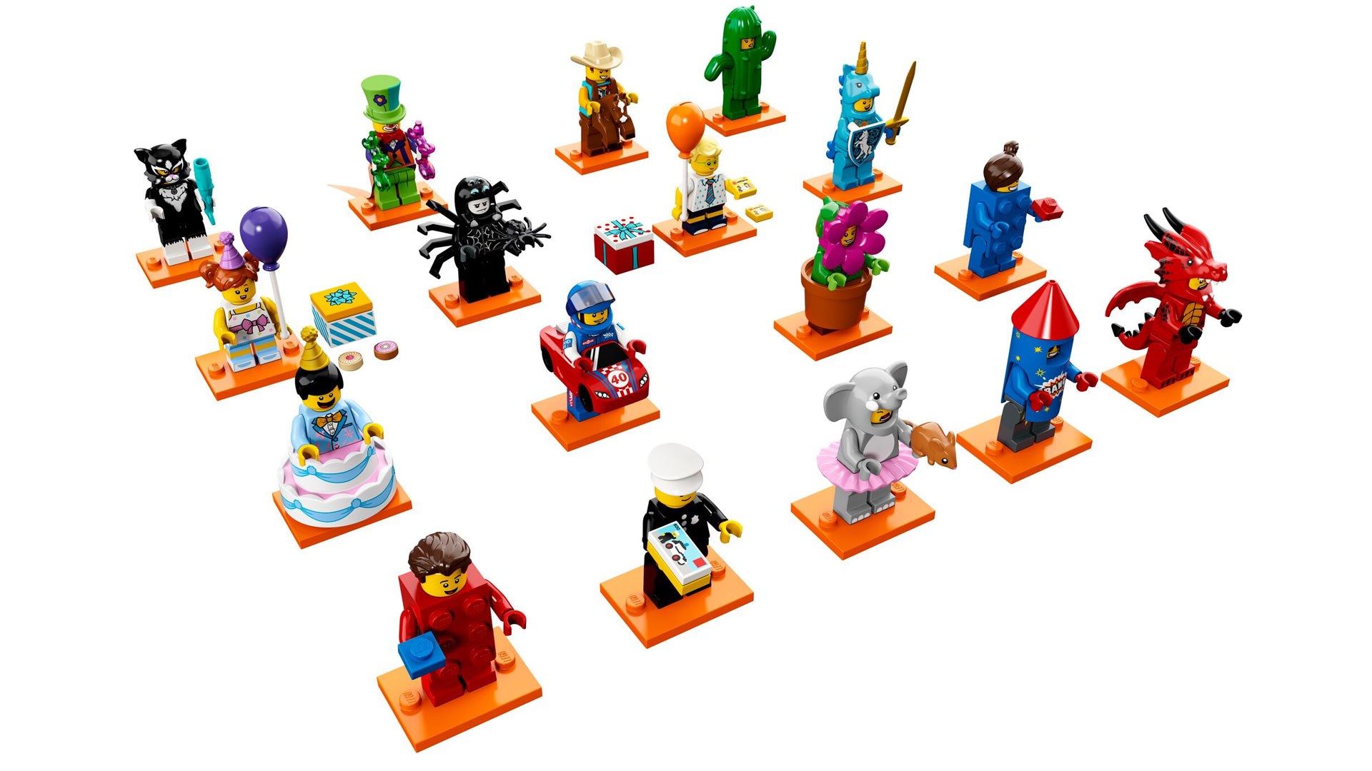 LEGO Minifigures Series 18: Party at Toy Fair 2018
