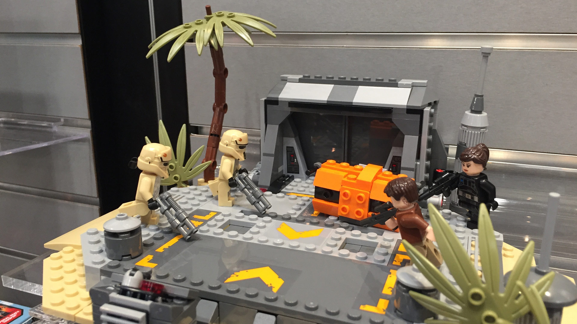 LEGO Star Wars Set 75171 Battle on Scarif at Toy Fair 2017