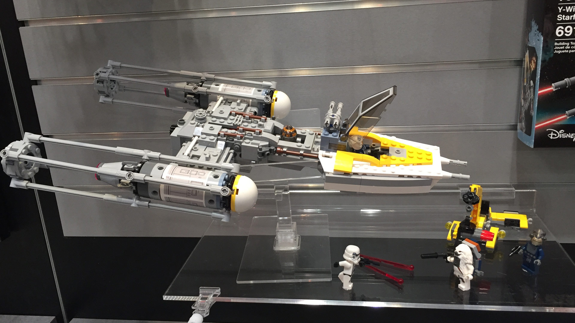 LEGO Star Wars Set 75172 Y-Wing Starfighter at Toy Fair 2017