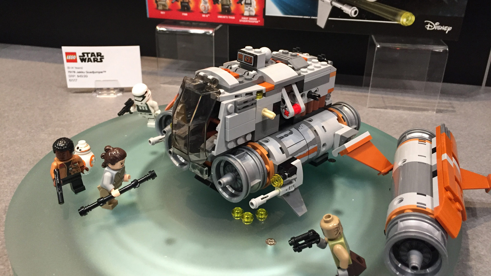 LEGO Star Wars Set 75178 Jakku Quad Jumper at Toy Fair 2017