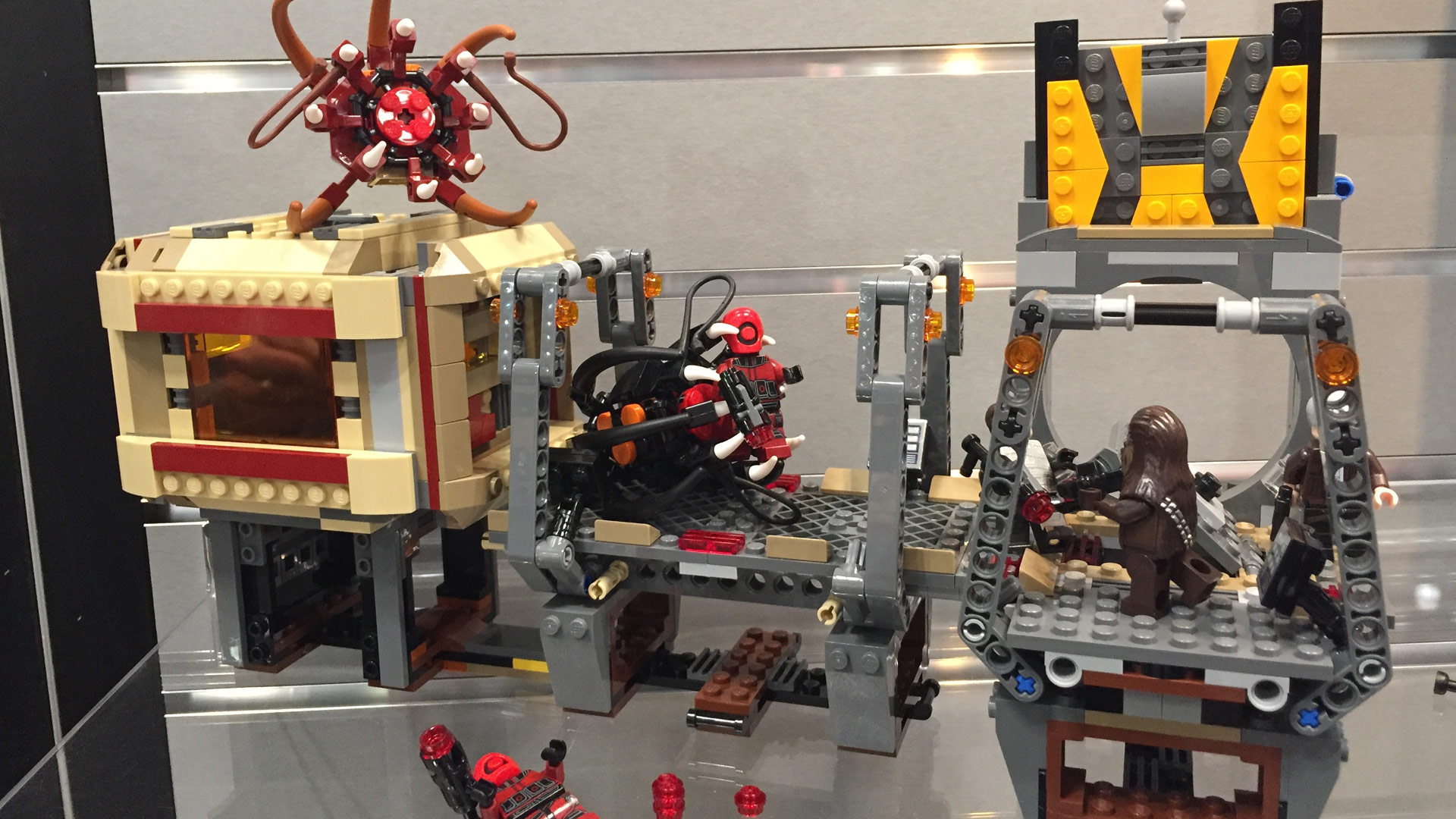 LEGO Star Wars Set 75180 Rathtar Escape at Toy Fair 2017