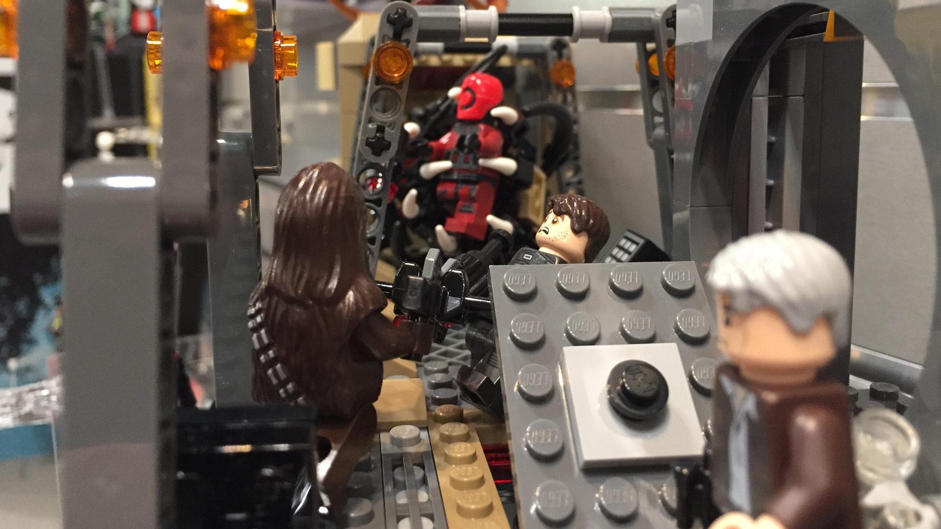 LEGO Star Wars Set 75180 Rathar Escape at Toy Fair 2017