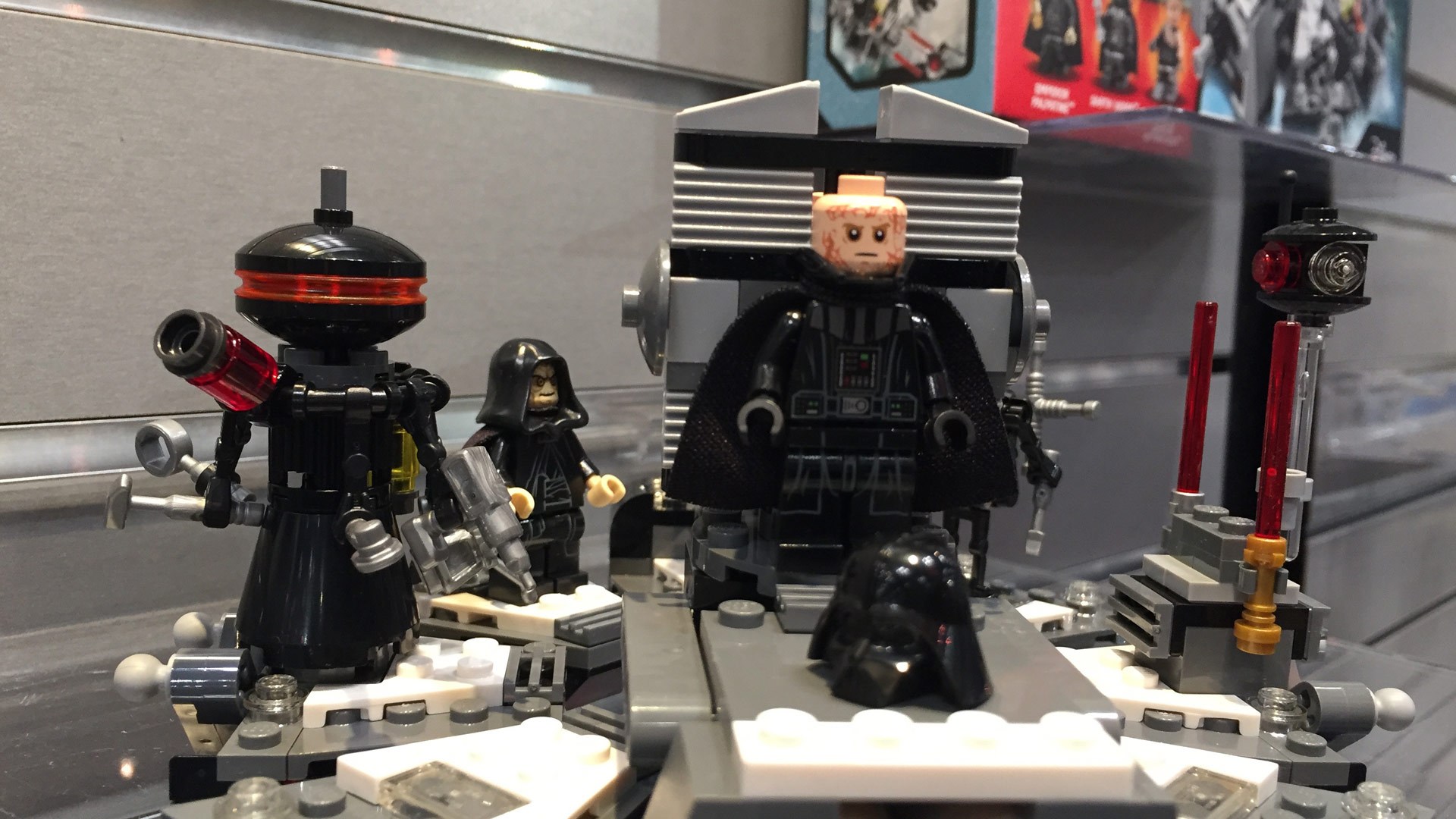 LEGO Star Wars Set 75183 Darth Vader's Transformation at Toy Fair 2017