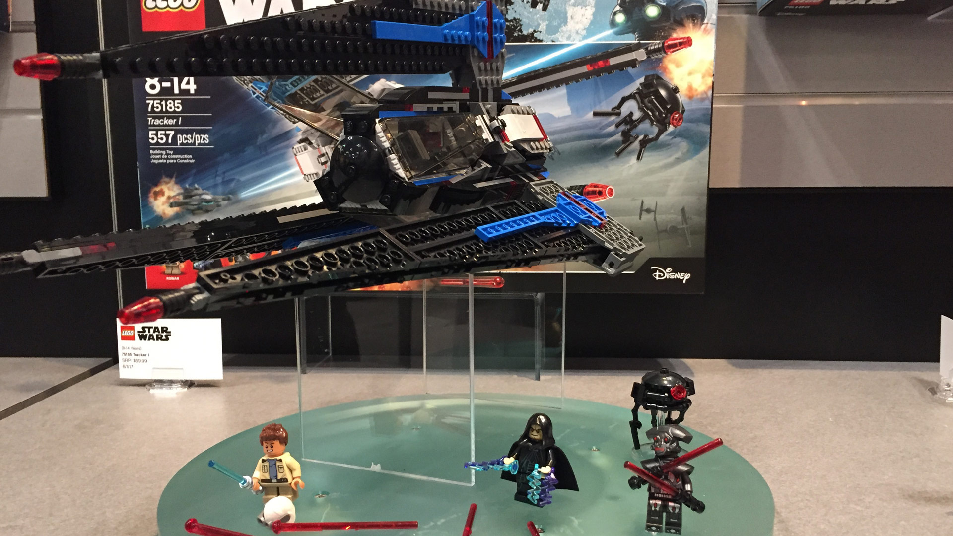 LEGO Star Wars Set 75185 Tracker 1 at Toy Fair 2017