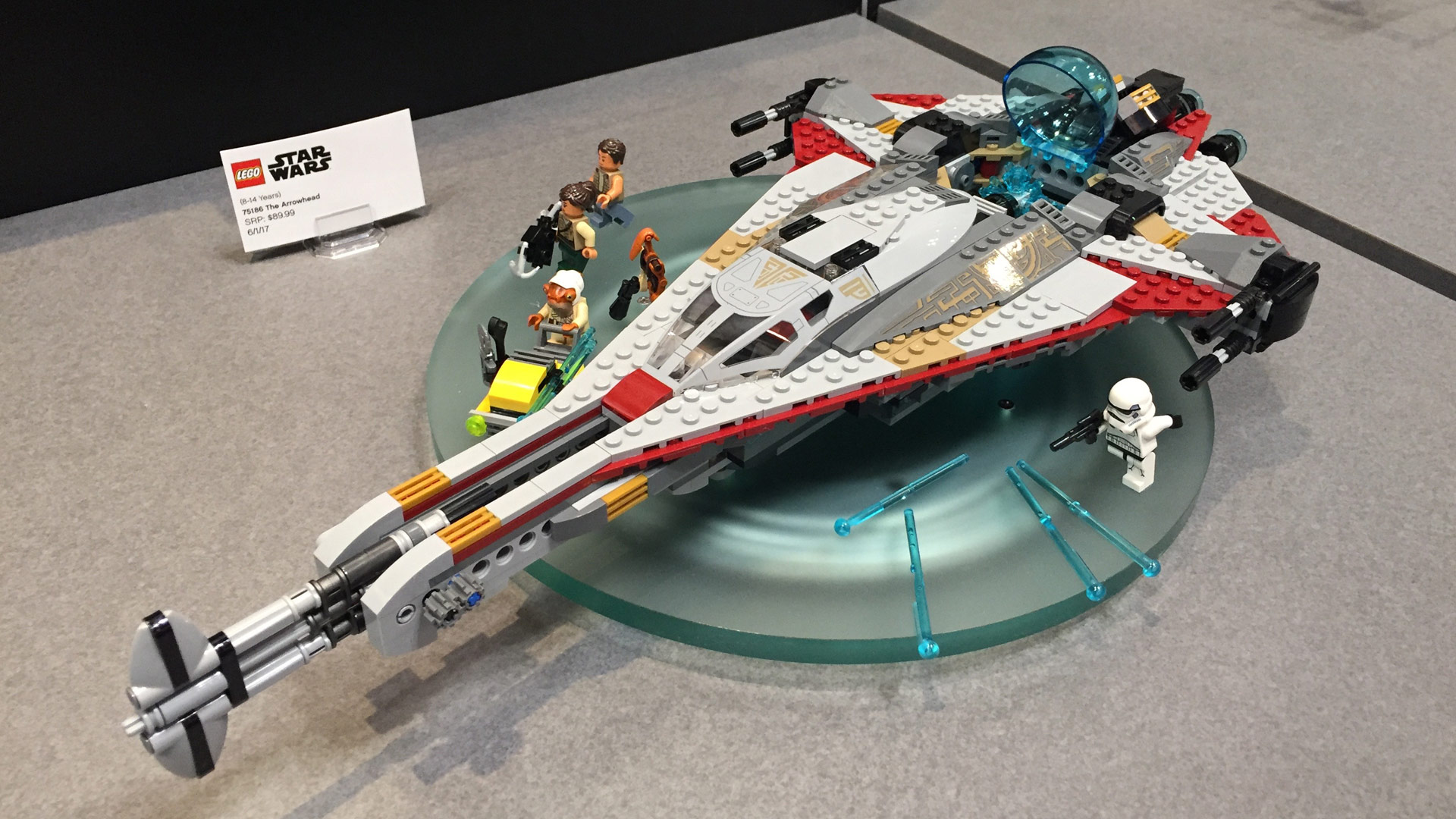LEGO Star Wars Set 75186 The Arrowhead at Toy Fair 2017