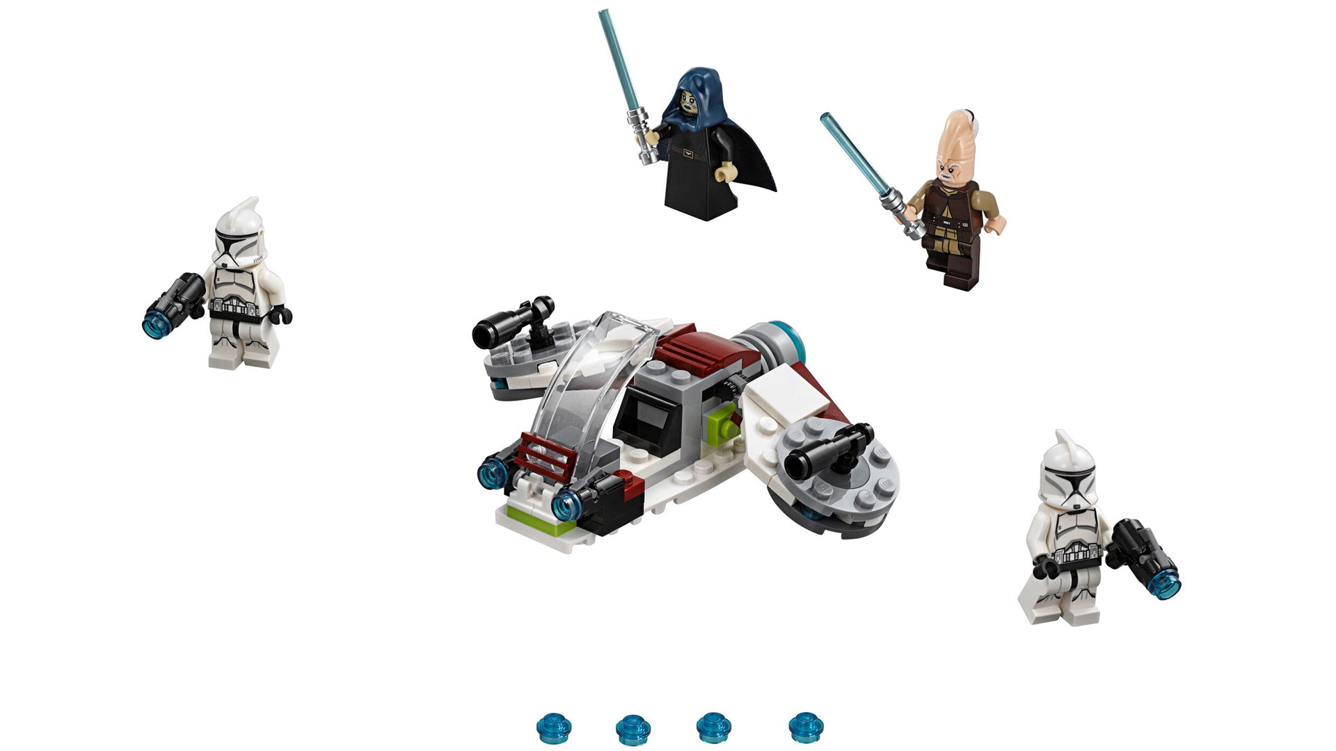 LEGO Star Wars Set 75206 Jedi and Clone Troopers Battle Pack at Toy Fair 2018