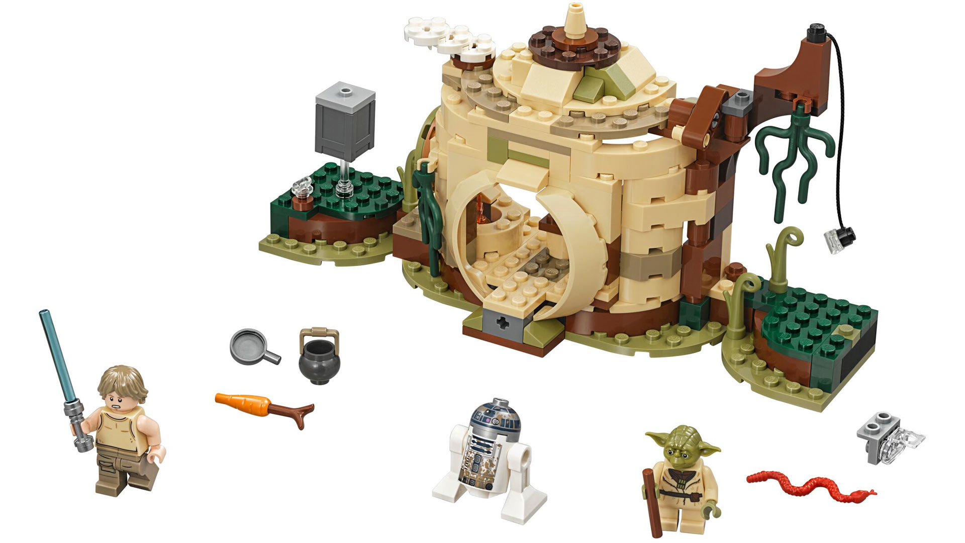 LEGO Star Wars Set 75208 Yoda's Hut at Toy Fair 2018