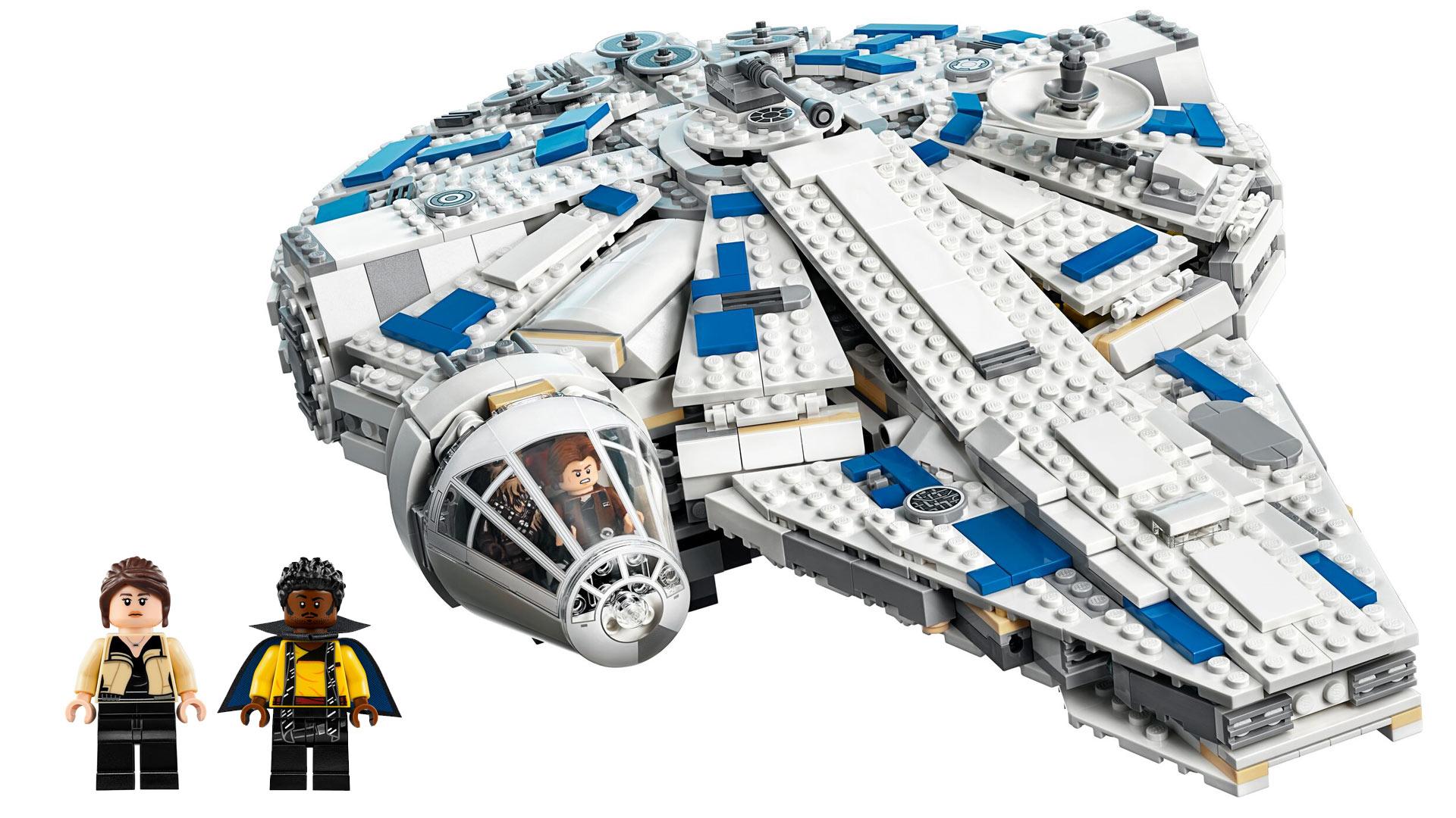 LEGO Star Wars Set 75212 Kessel Run Millennium Falcon at Toy Fair 2018