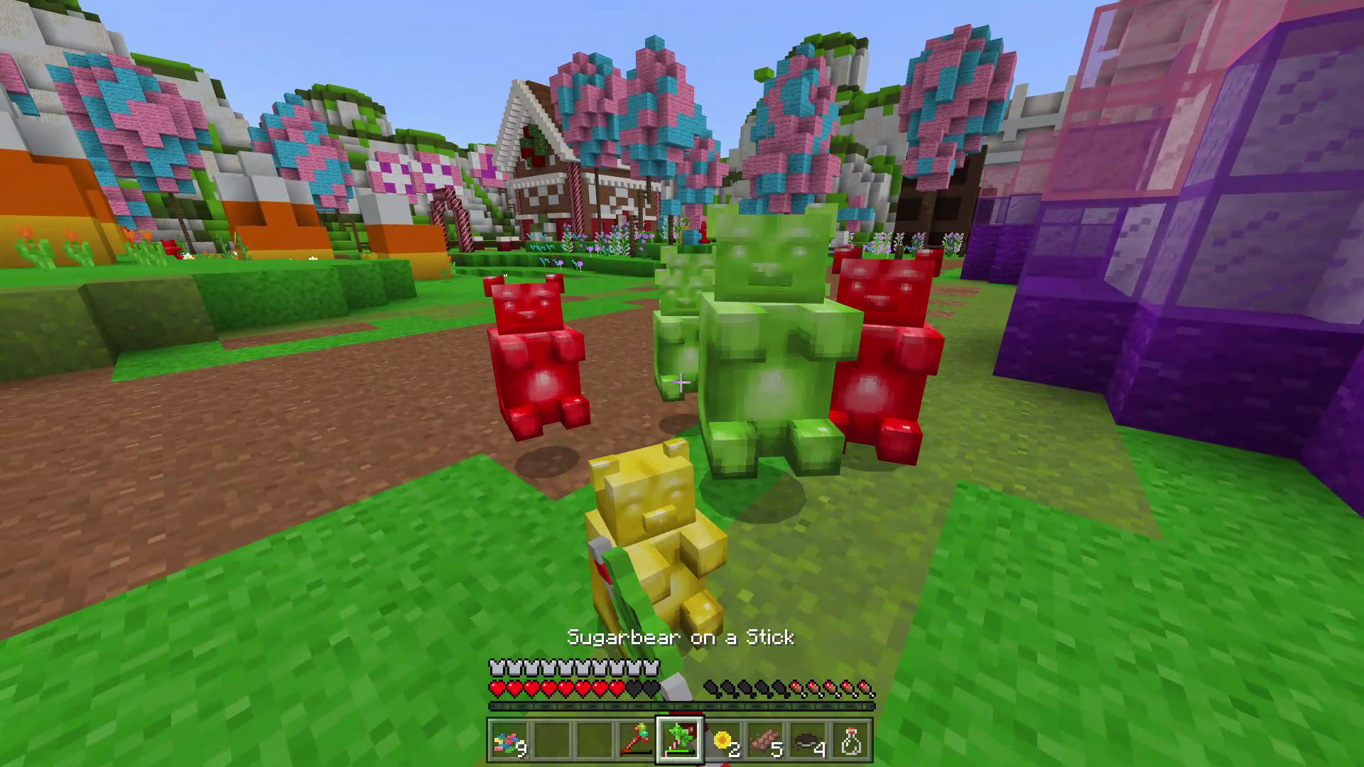 Minecraft A Nightmare in Candyworld Screenshot