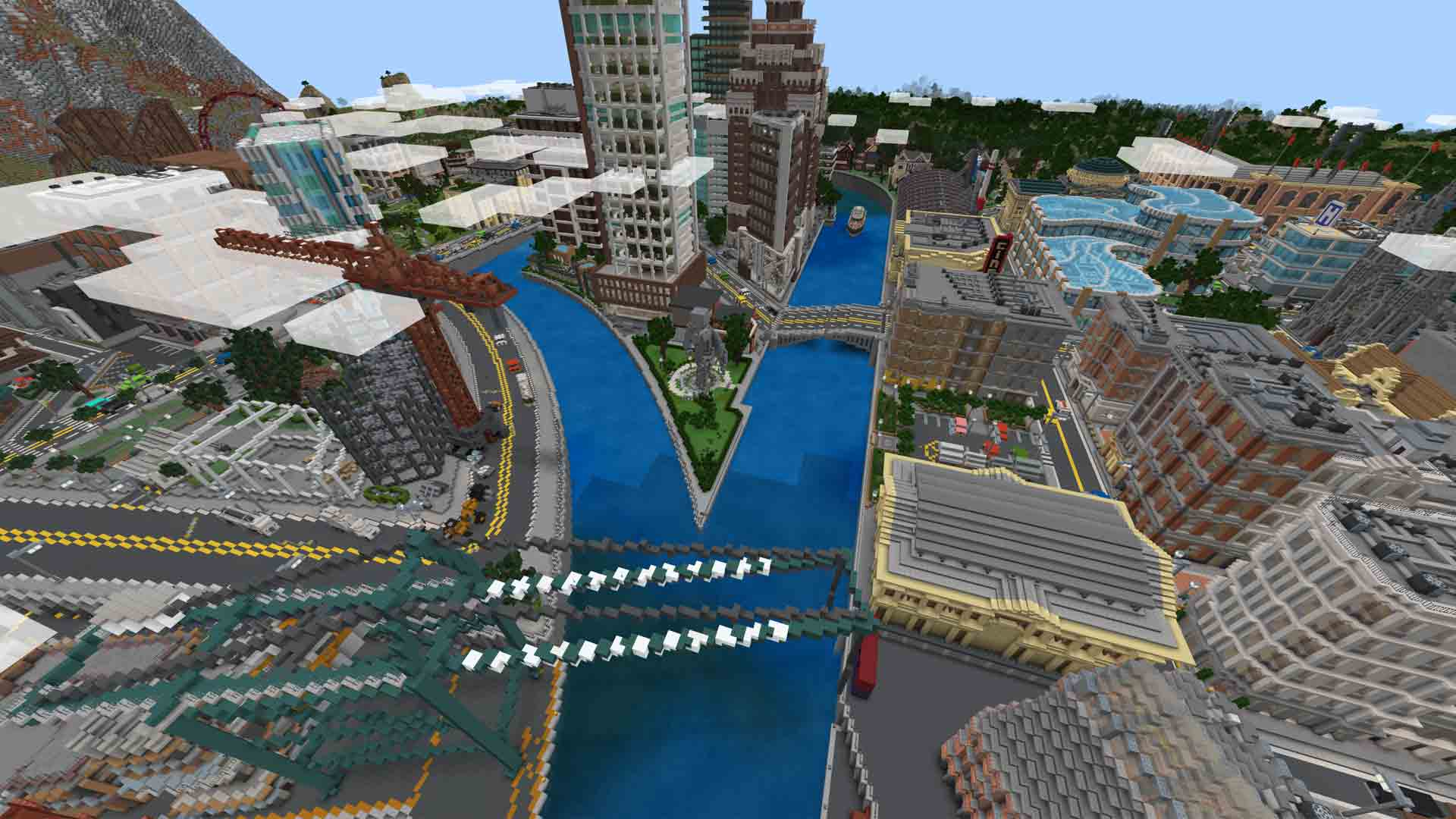 minecraft city mashup pack free download