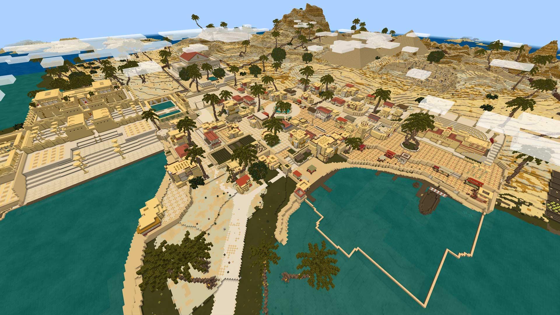 Minecraft Cleopatra's Treasure Screenshot