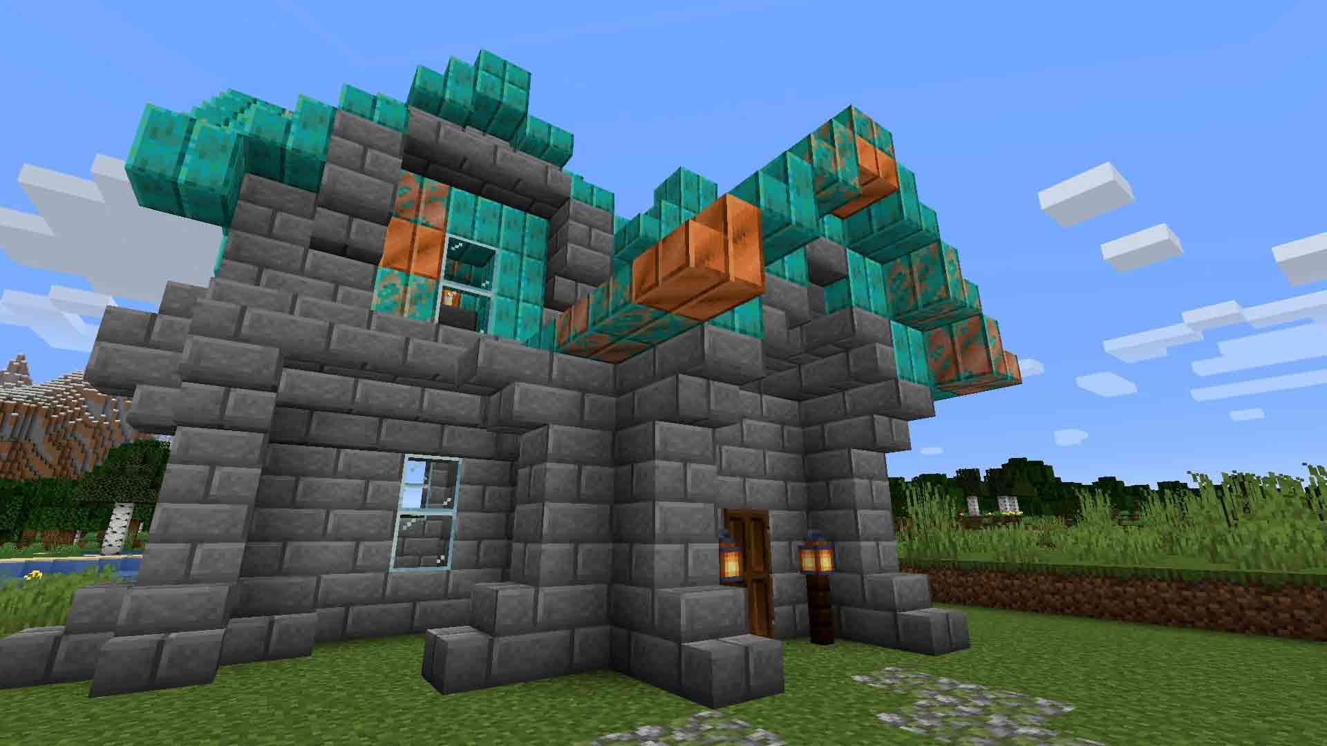 Minecraft copper ore