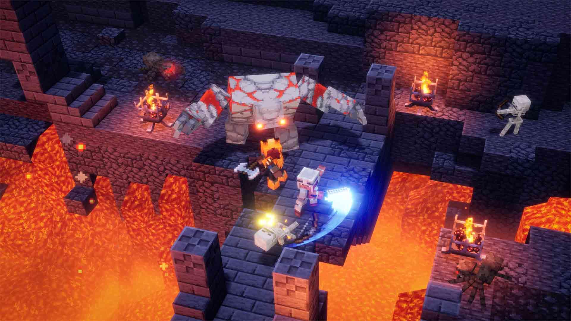 Minecraft Dungeons Review Xbox Wallpaper Screenshot
