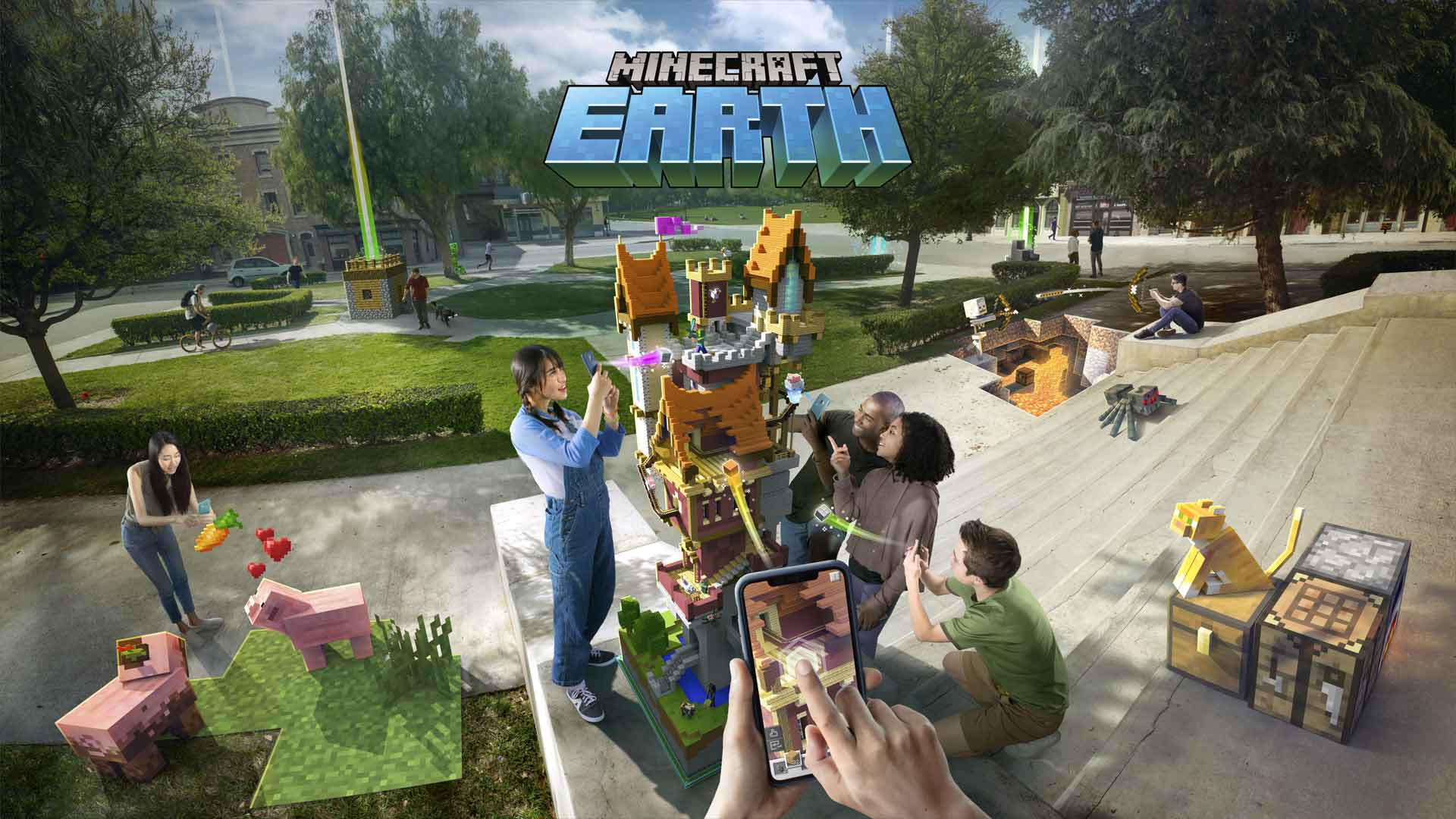 Minecraft Earth Cover