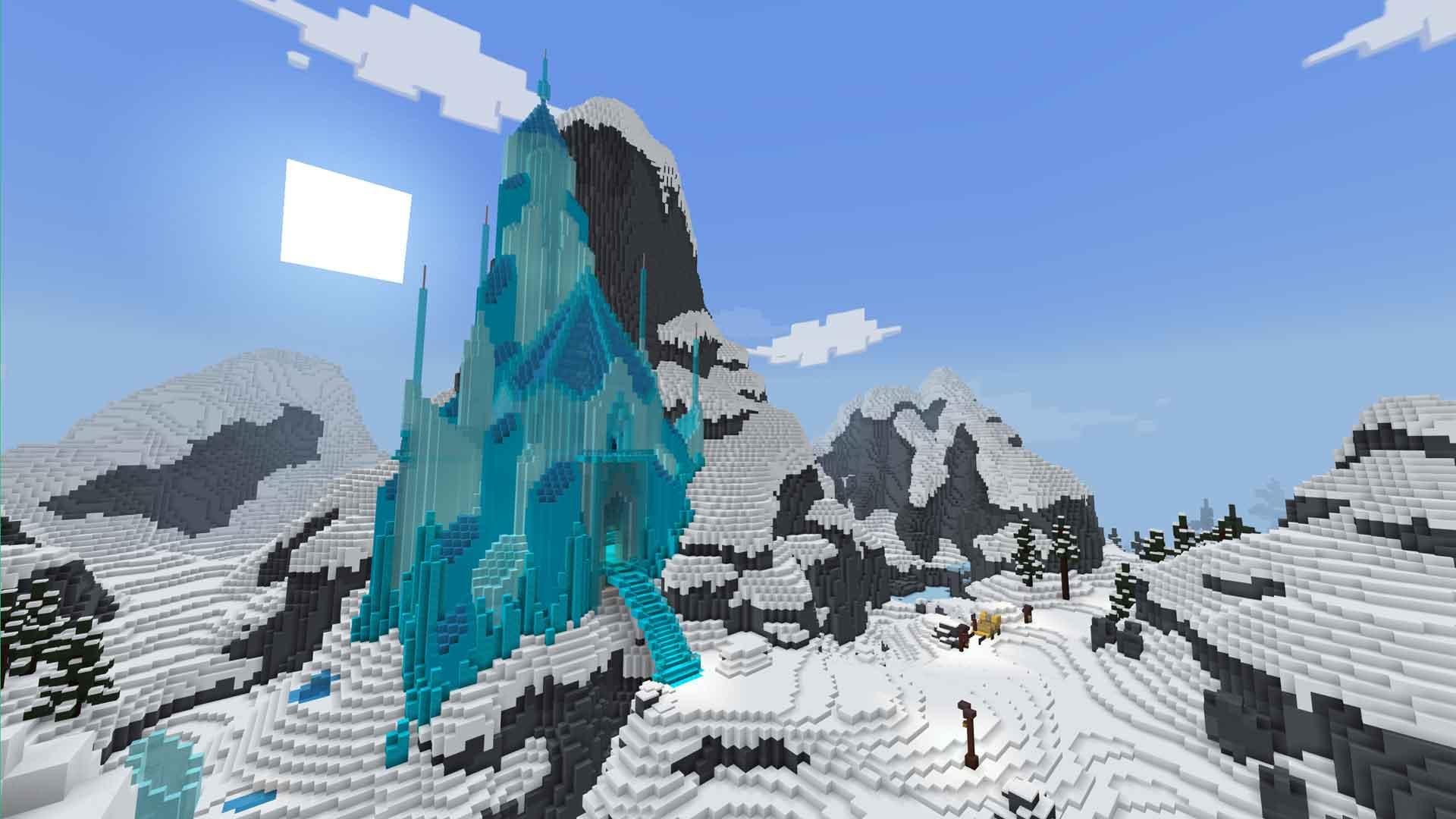 Minecraft Frozen Lauren Shuckburgh