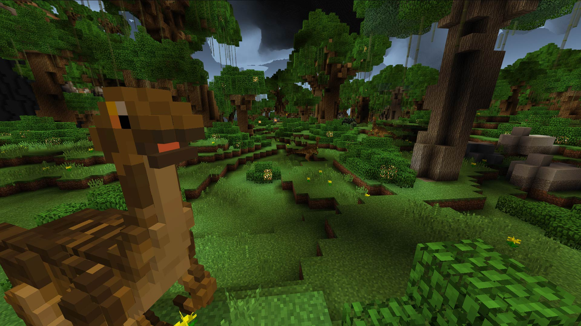 Minecraft Jurassic Depths Screenshot