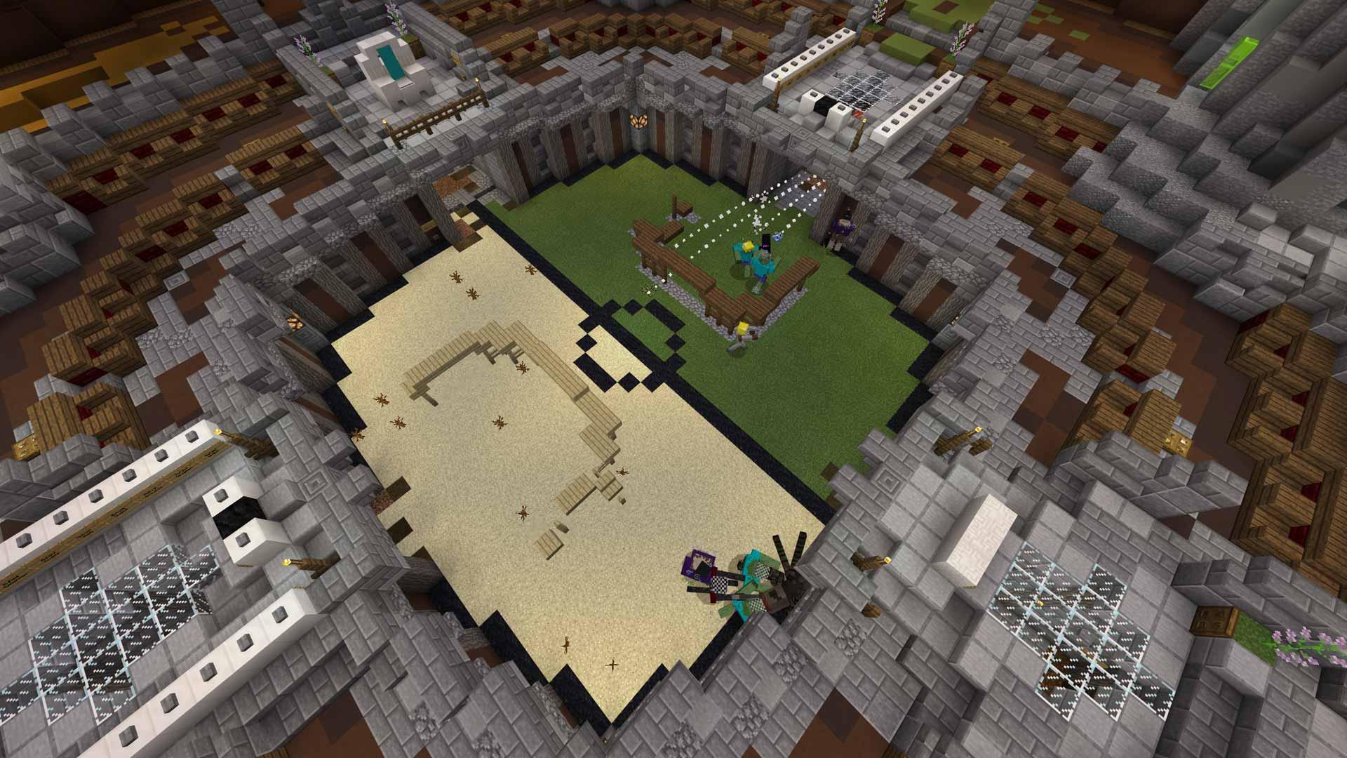 minecraft battle arenas