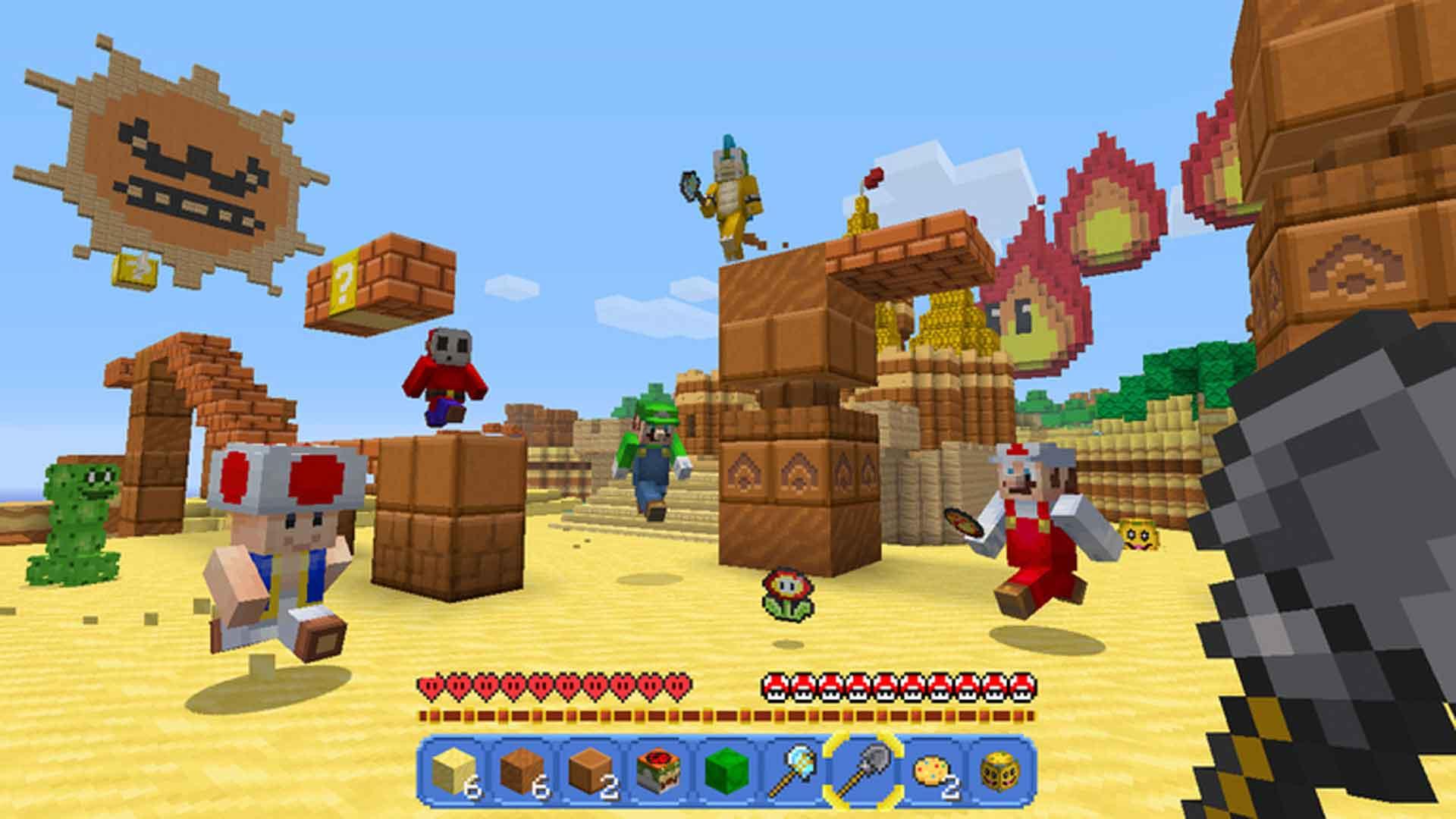 Minecraft Nintendo Switch Edition Screenshot