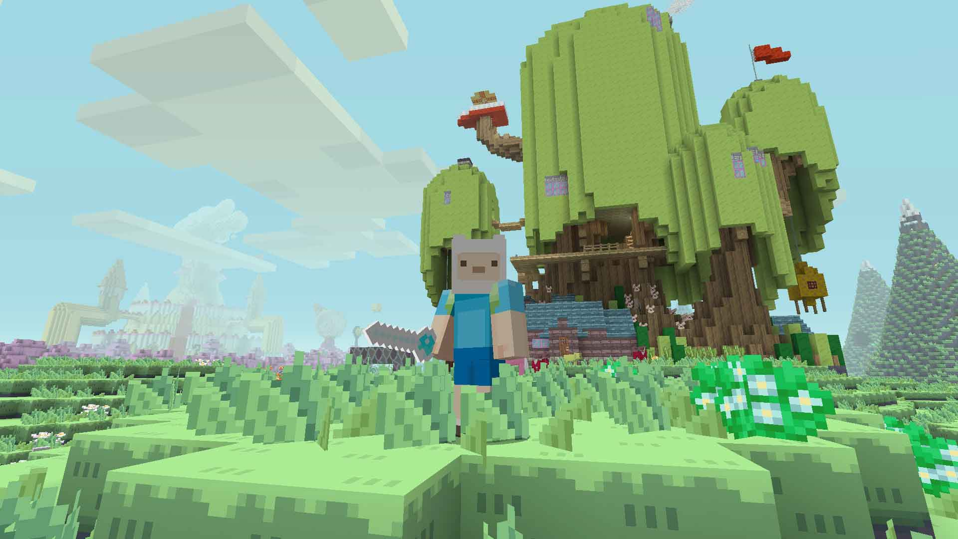 Minecraft: Adventure Time Mash-Up Pack Review - Gamerheadquarters