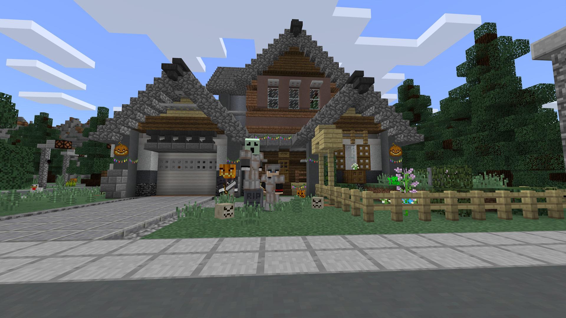 Minecraft Marketplace Halloween 2017 Maps Released Screenshot