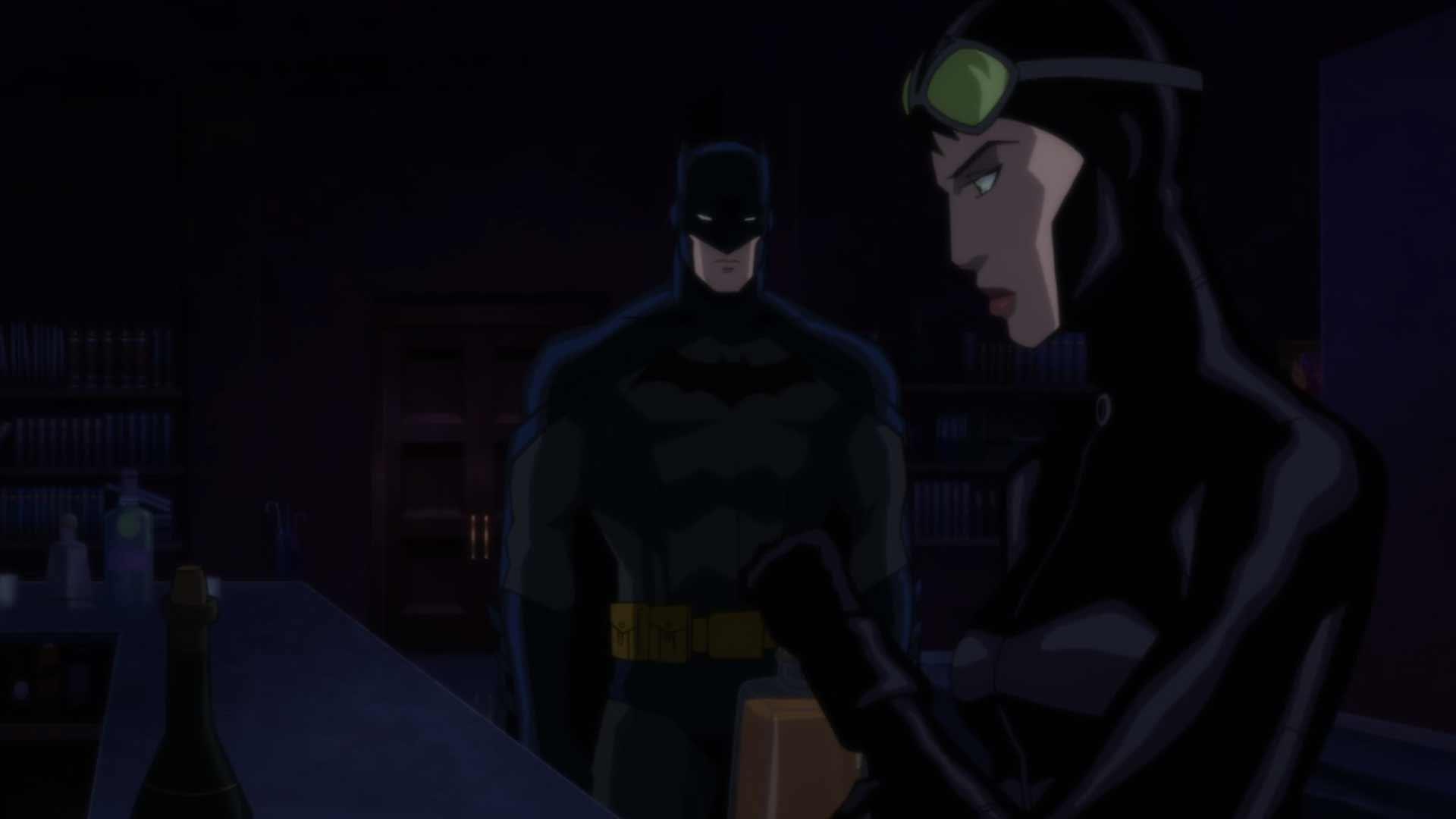 Бэтмен Хуш Обои Женщина-кошка