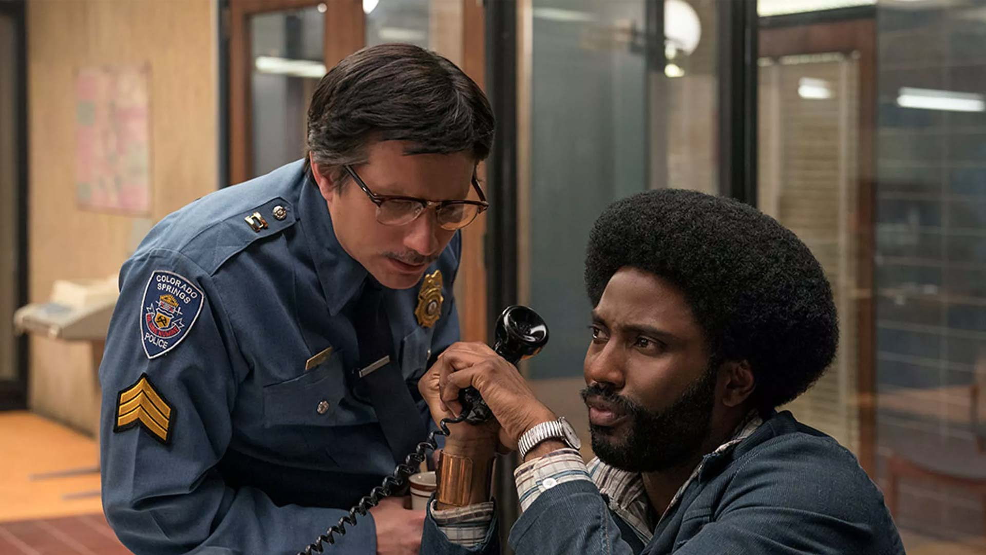 BlacKkKlansman 4k Blu-Ray Wallpaper Detective