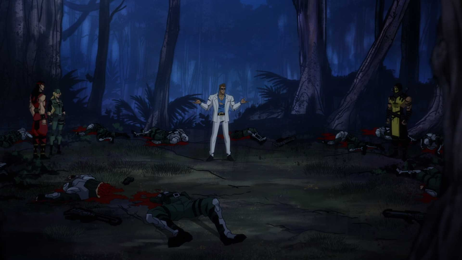 Mortal Kombat Legends Scorpion S Revenge Review Gamerheadquarters