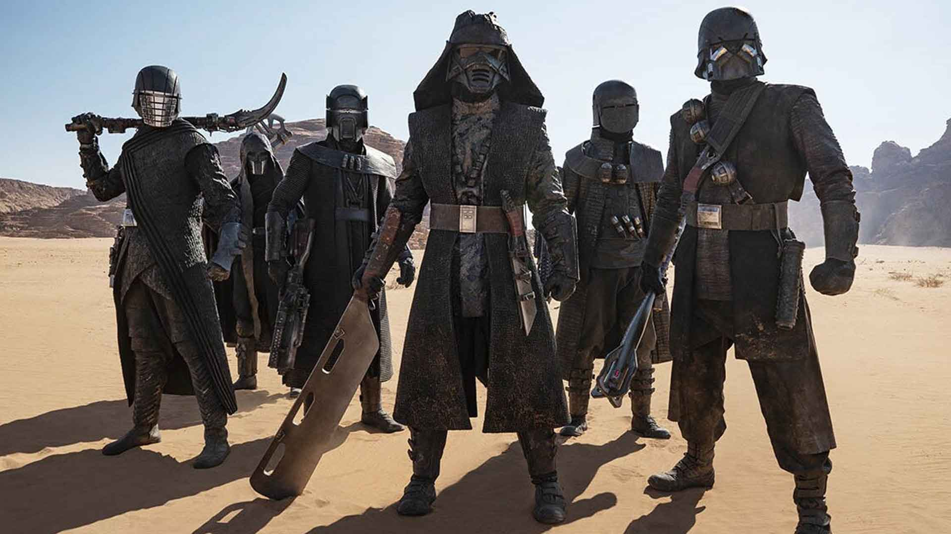 Eunice Huthart Star Wars: The Rise of Skywalker stunts